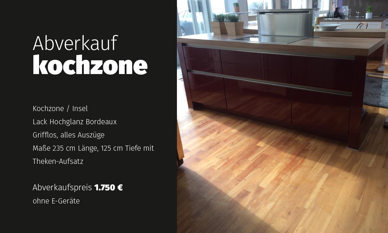 Küchenmöbel maße  Kuechen und Kuechenmoebel Abverkauf, hochwertige Einzelstuecke